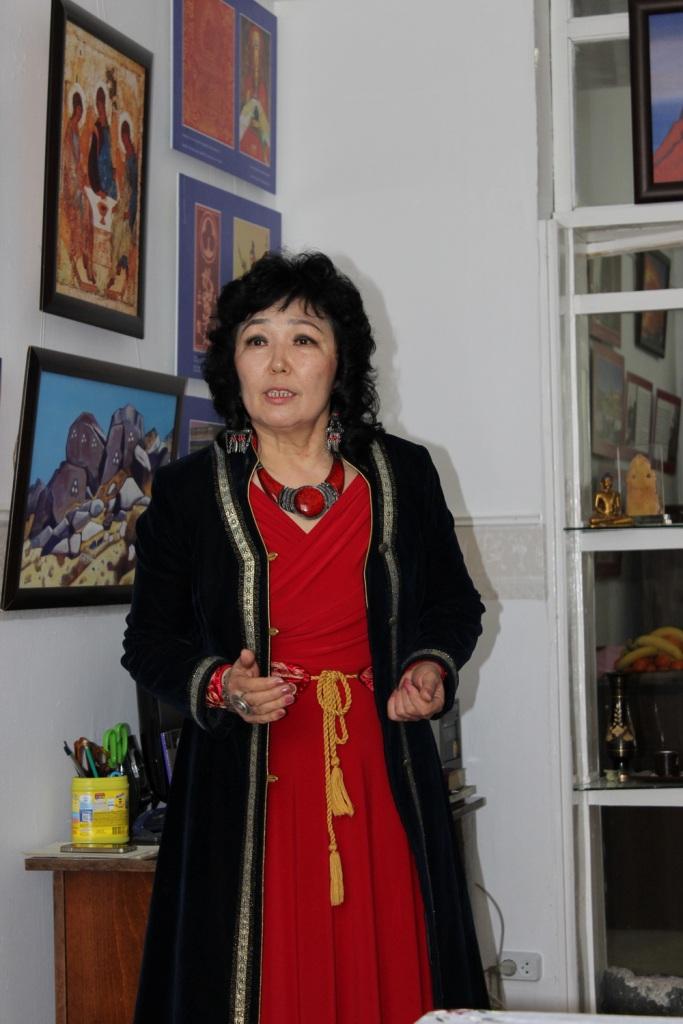 Дария Асановна Кайбылдаева